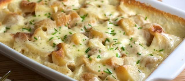 Potatoes Au Gratin and Pinot Gris